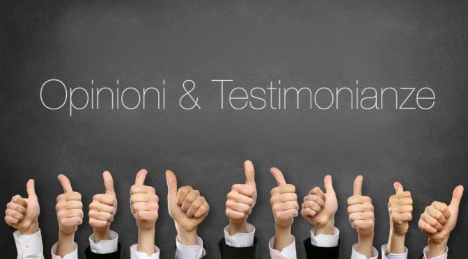 Opinioni e Testimonianze su Massimo Tonci