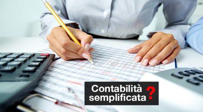 contabilità semplificata