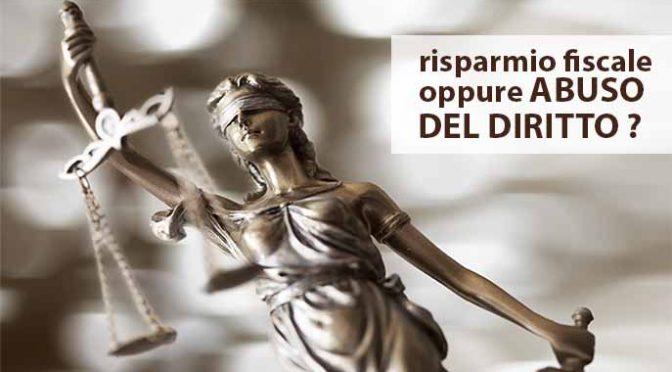 Abuso del diritto: perché non dare le quote della SRL alla nonna