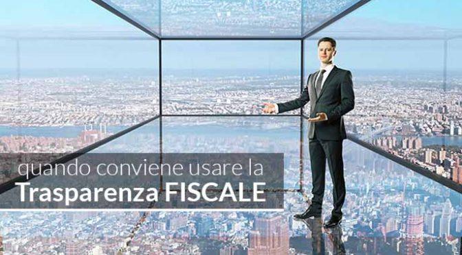Trasparenza fiscale nella SRL: quando conviene