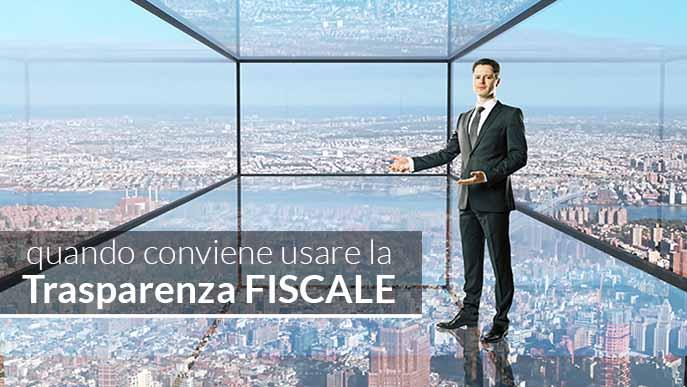 trasparenza fiscale