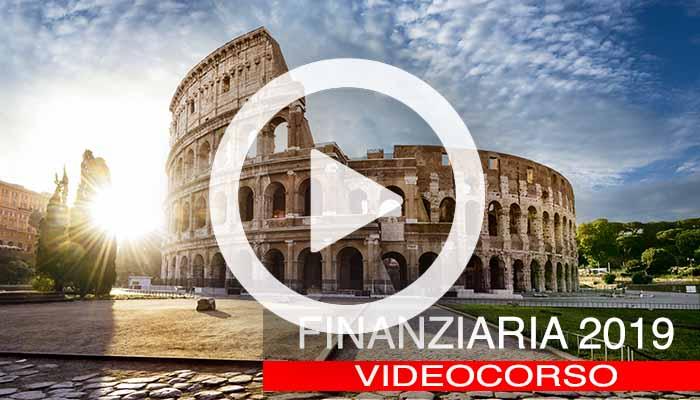 video-corso nuova Finanziaria 2019