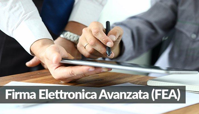 Firma Elettronica Avanzata FEA
